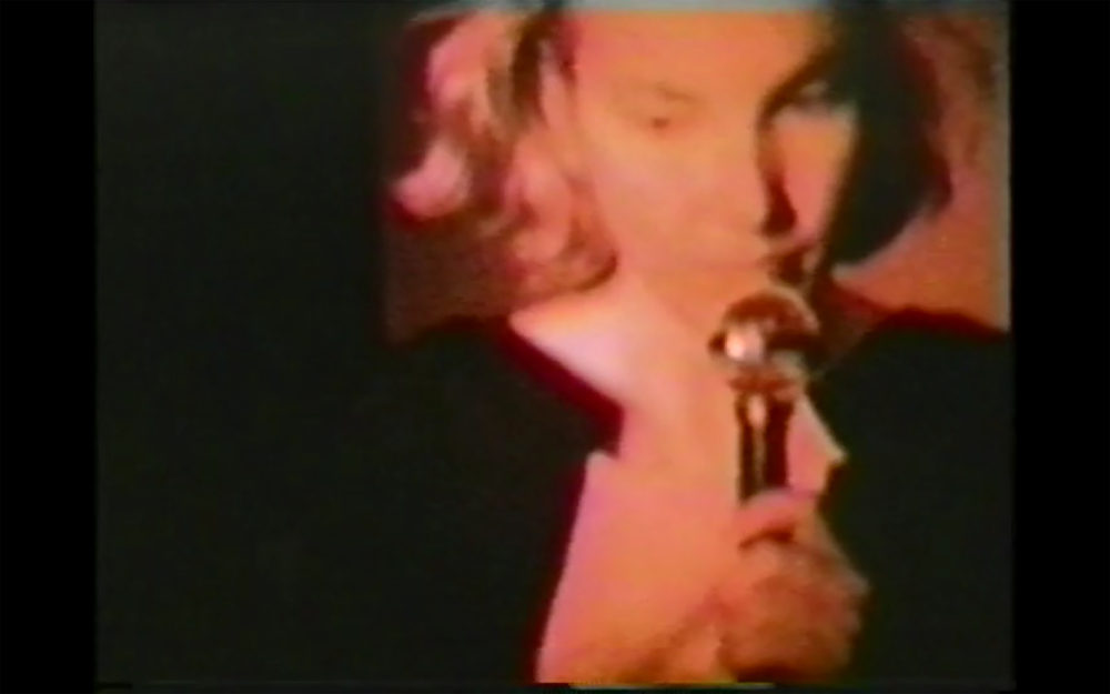 Susan Cianciolo Pro-Abortion Anti-Pink (Still), 1995 Video, an Alleged Films release, camera by Terry Richardson, Anette Aurell, Marcelo Krasilcic, Tobin Yelland and Chris Moore