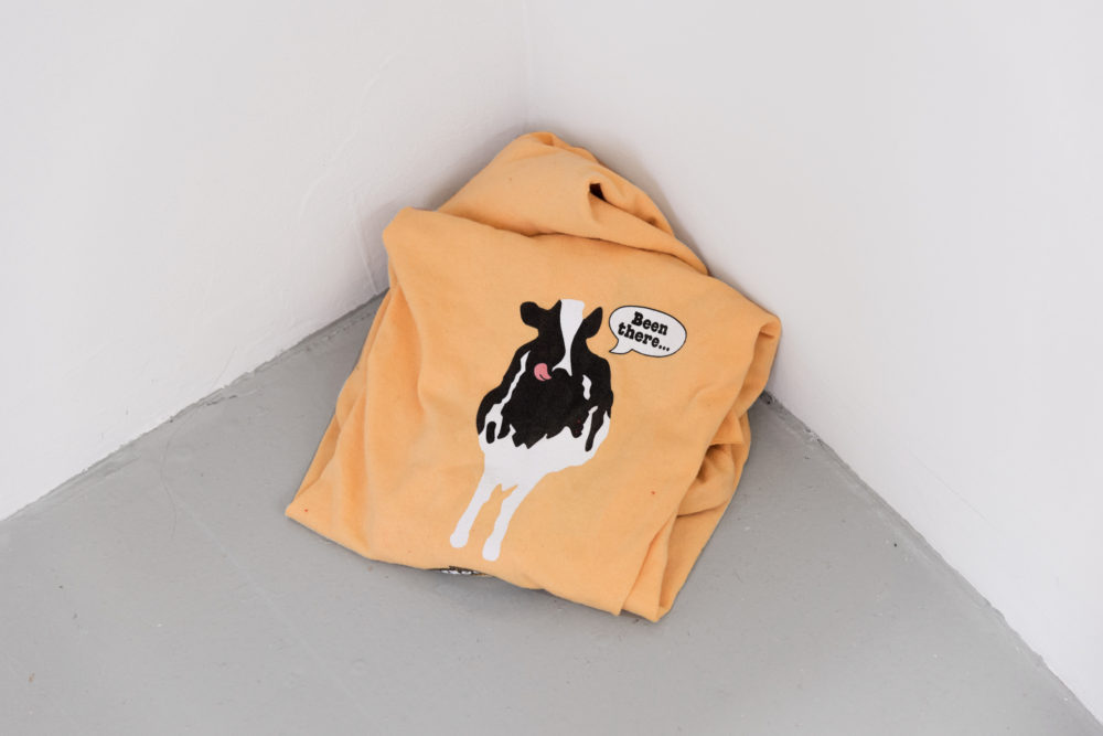 Rebecca Peel Head (XXL Vermont Creamery), 2016 Extra extra large short-sleeve printed cotton t-shirt