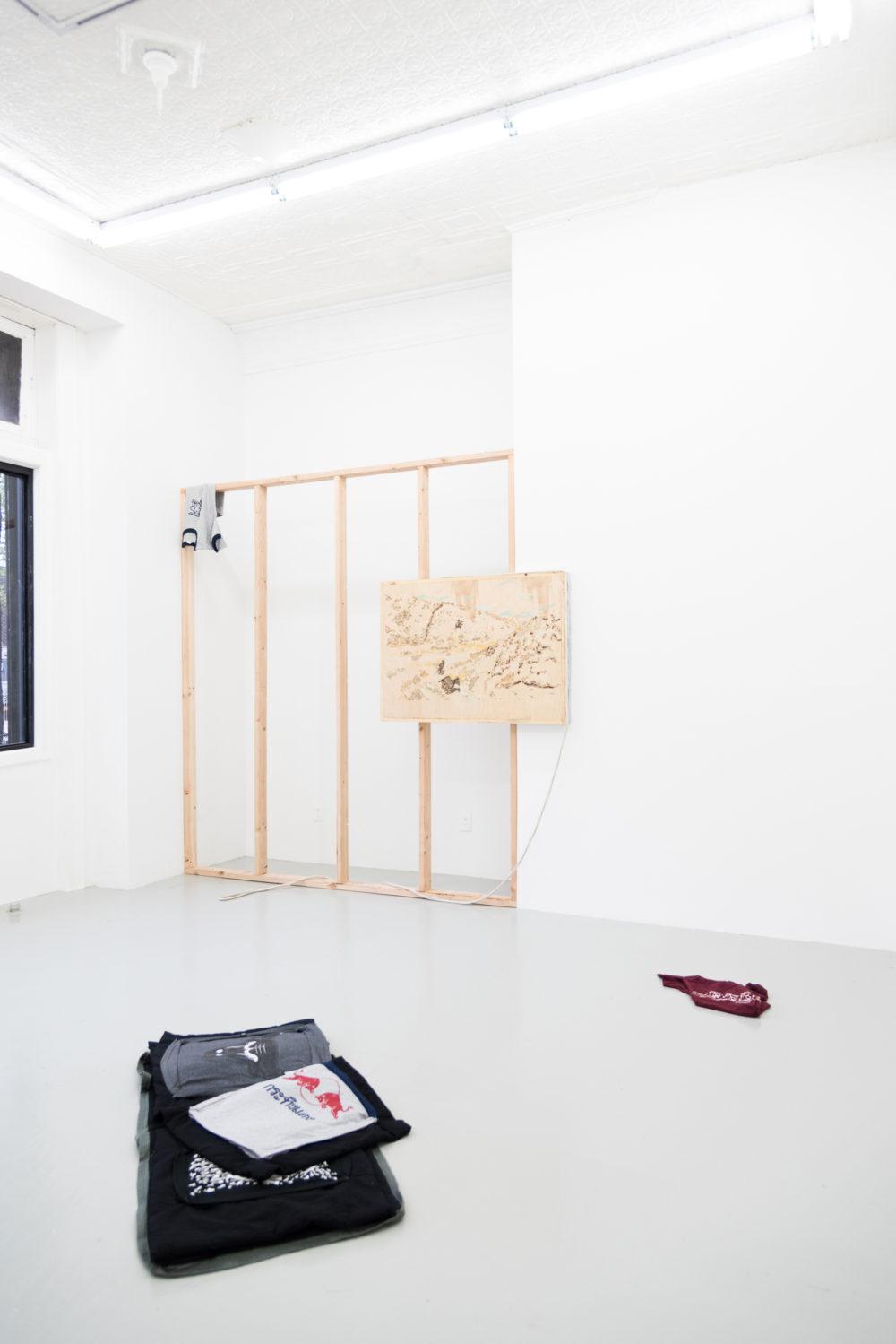 Rebecca Peel Four Corners Properties, 2016 Installation view