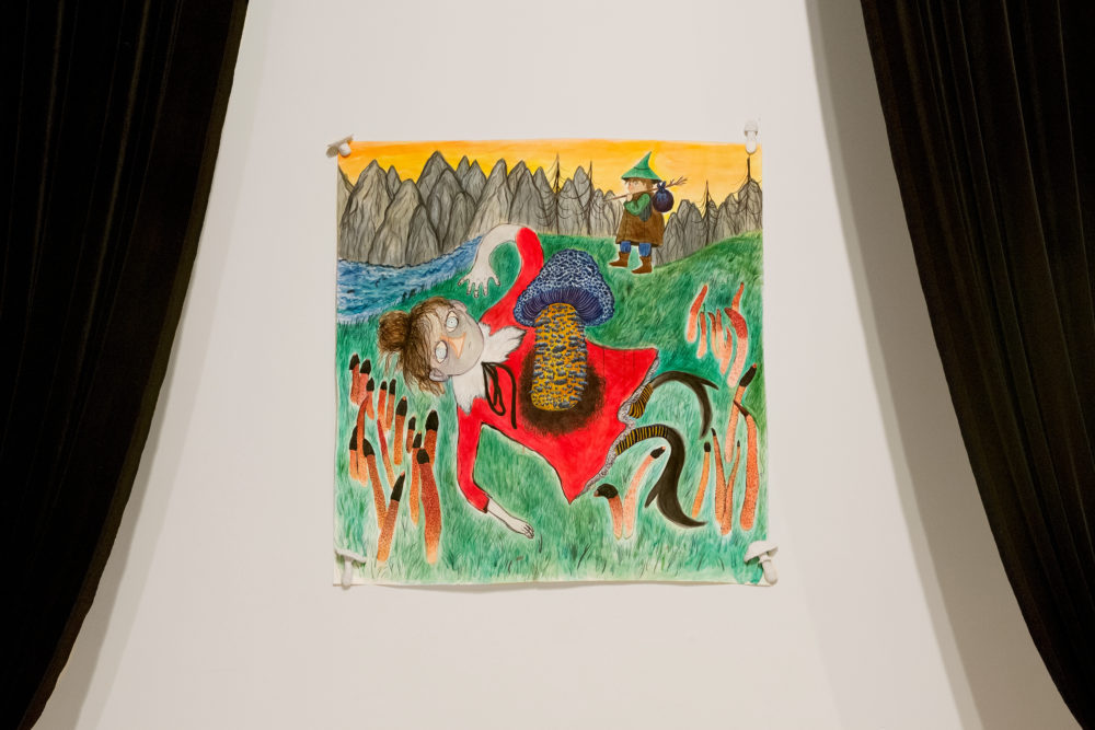 Betty Roytburd Untitled, 2016 Acrylic, sumi ink, gouache on paper