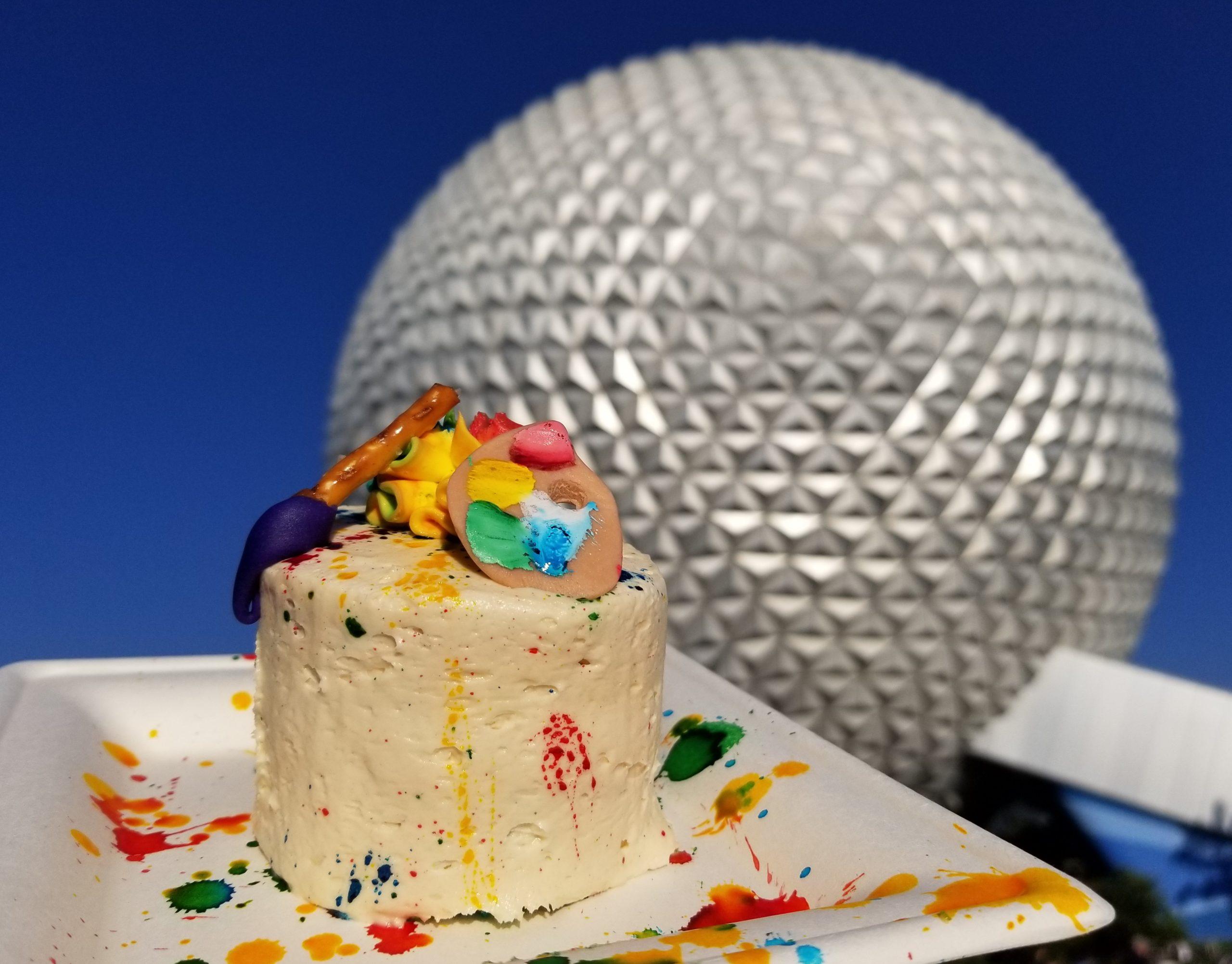 Artist Palette Seasonal Cake at Sunshine Seasons