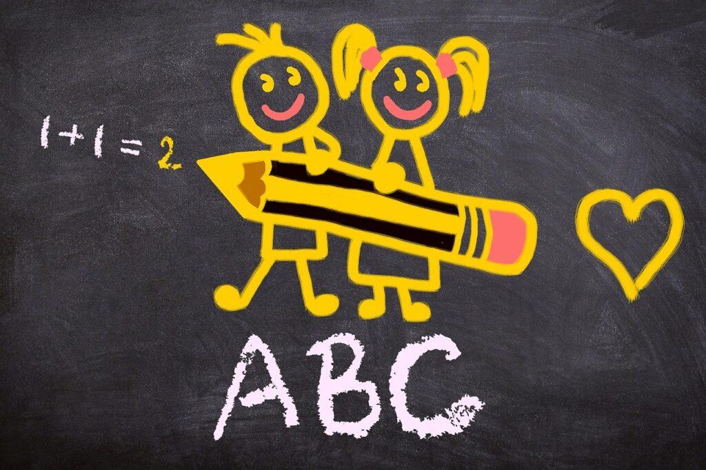 back to school, abc, school enrollment