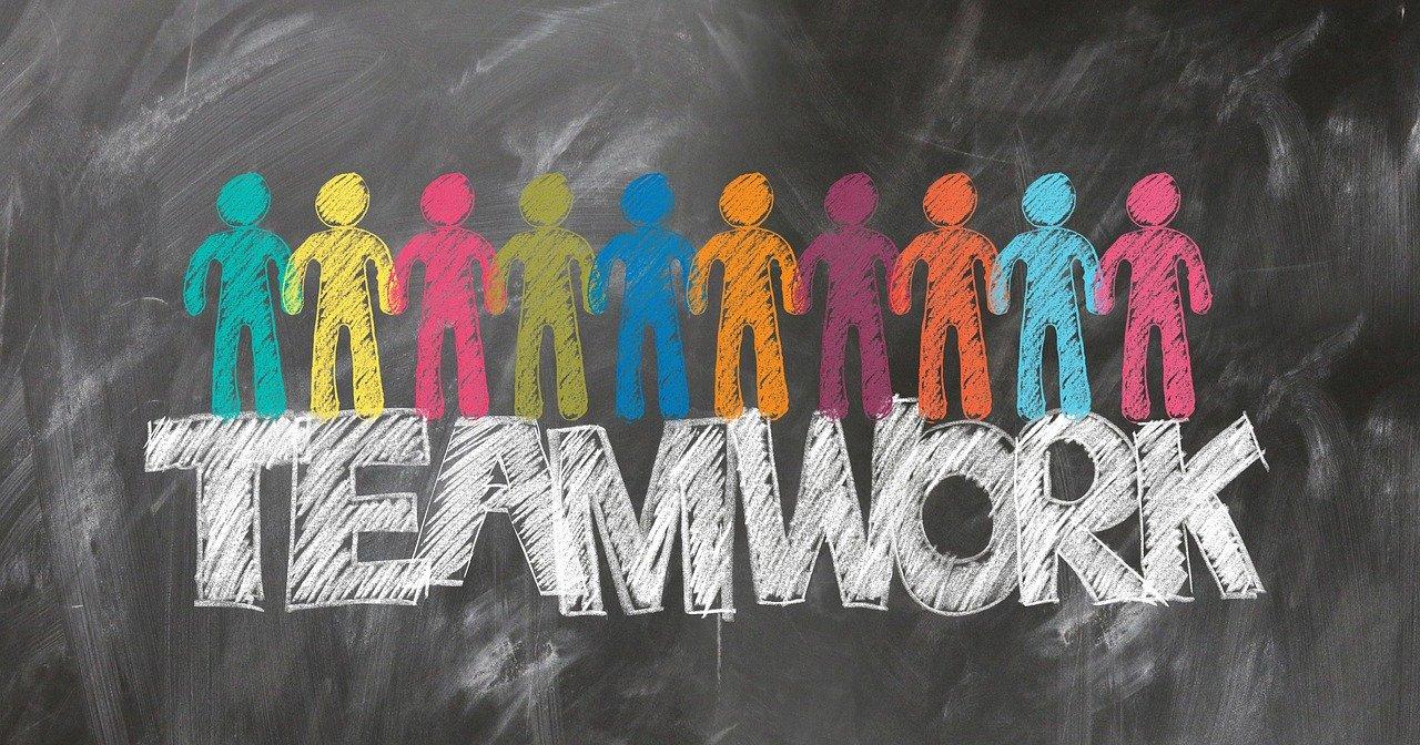 teamwork, team, gear