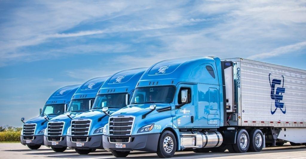Continental Express truck fleet