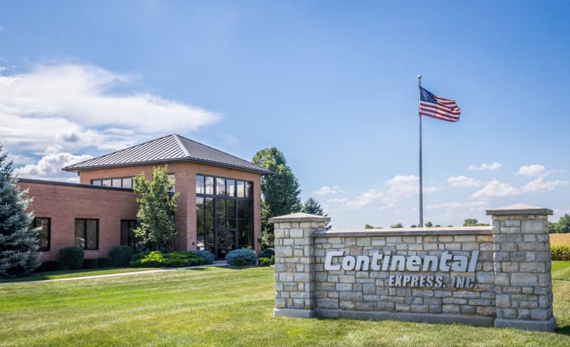 Continental Express Sidney Corporate location