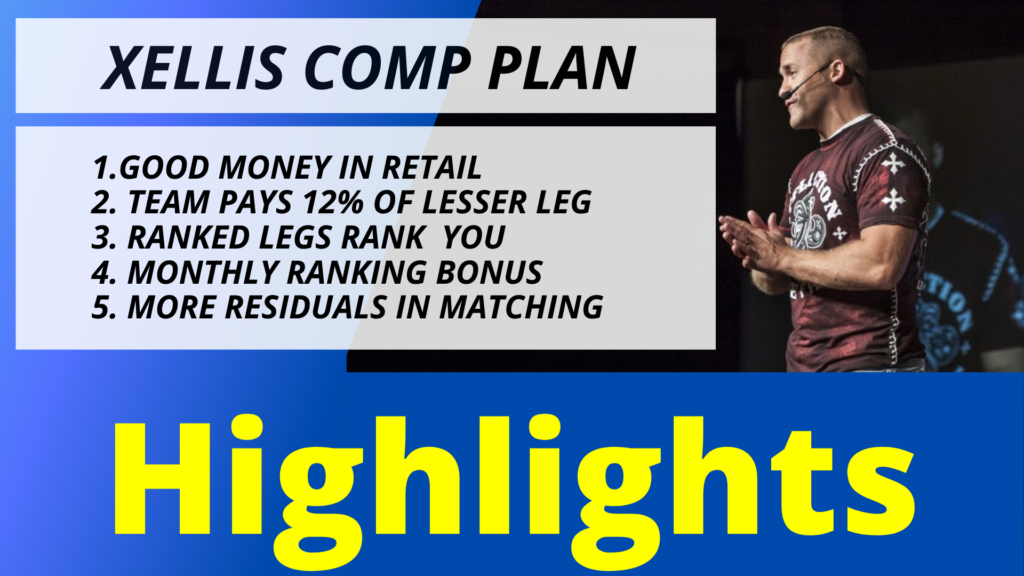Xelliss Compensation Plan review highlights