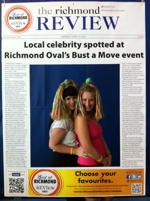 Bust a Move event Richmond Review 478x640