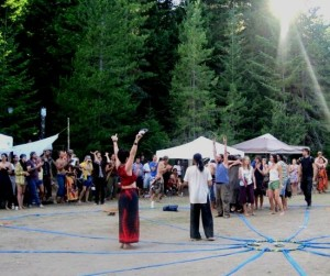 Mahara Brenna - Towards Eden Sustainable Energy Festival 2011 - Co-MC with Zamir Dhanji