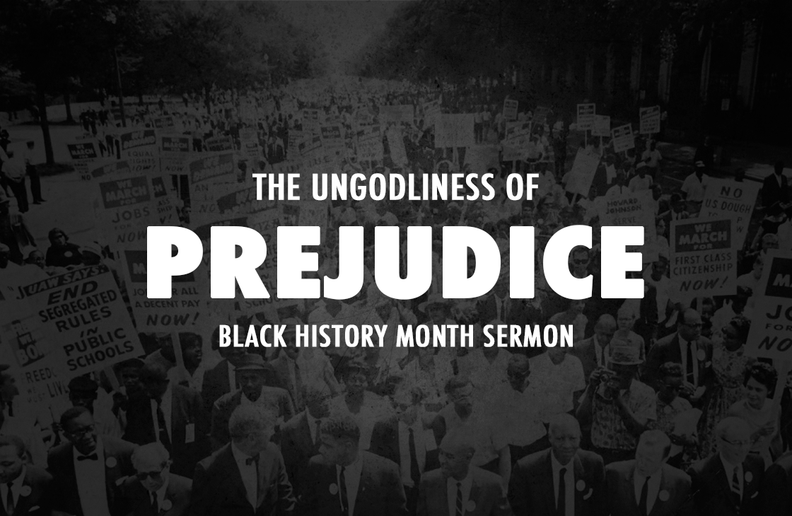 The Ungodliness Of Prejudice - Pastor Tommy Smith Sermon