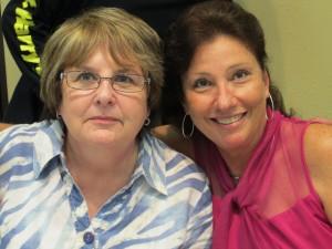 Margie Schwartz and Sharon Mahoney Ellenwood at Casting for Cats