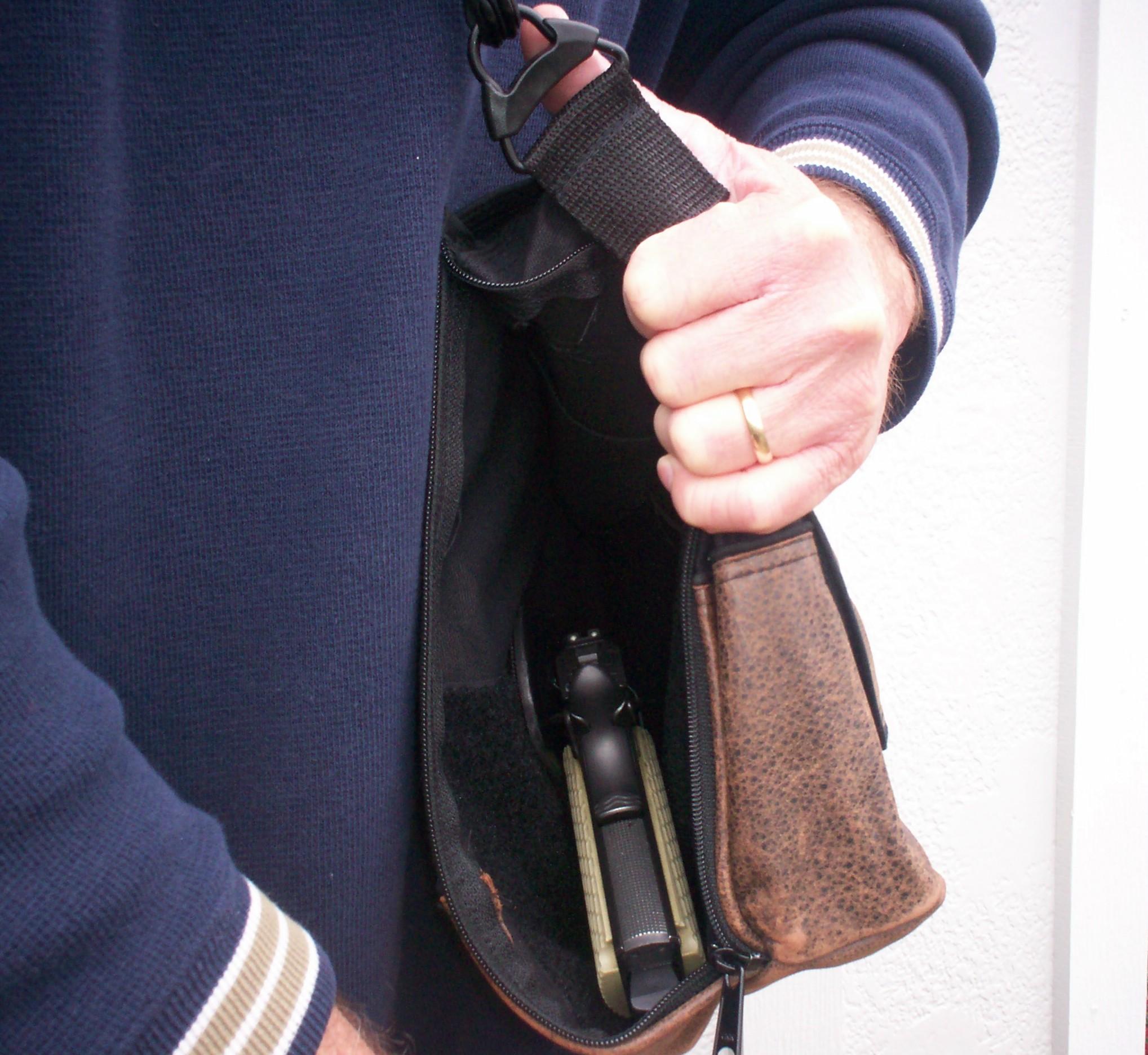 CrossBreed Holsters Concealed Carry Shoulder Bag