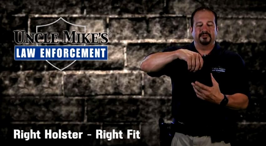 Uncle Mike's Holster Sizing