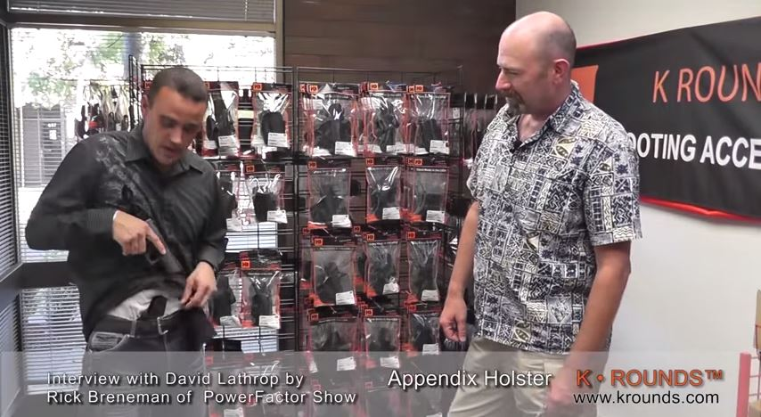 K ROUNDS IWB Appendix Carry Holster