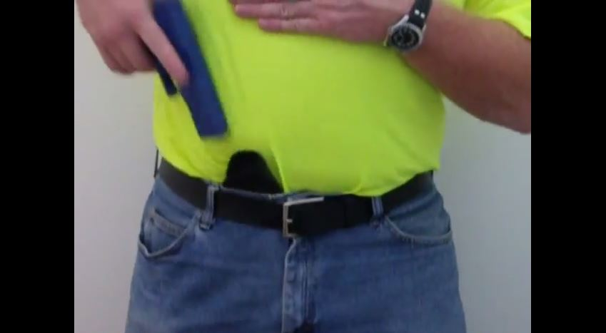 Reholstering with Sticky Holsters