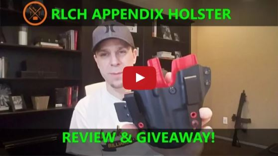 Redline Concealment Holsters DCR 2_0 Appendix Carry