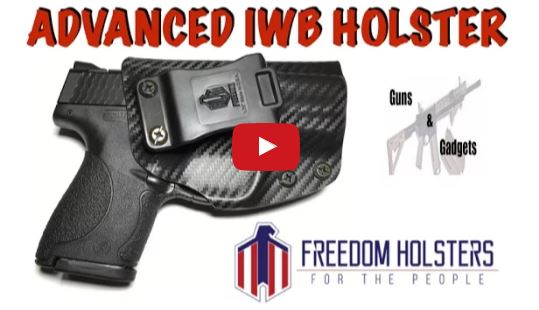 Freedom Holsters Advanced Inside the Waistband Holster