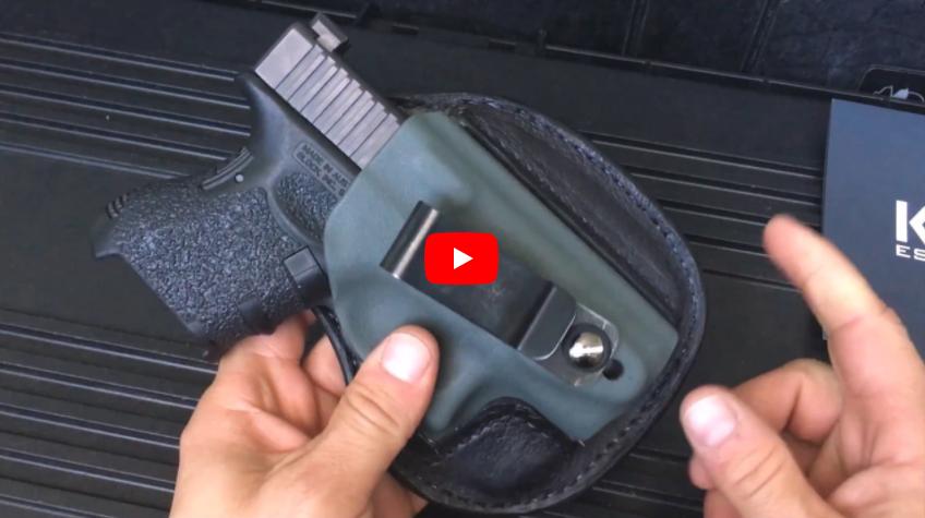 Holster Review - Rite 2 Bear Customs Holster for Glock 26