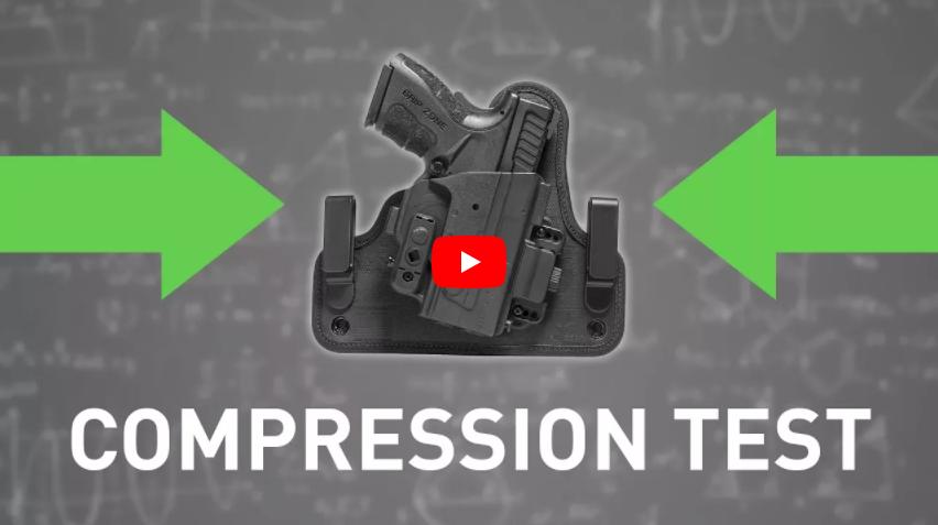 Alien Gear Holsters ShapeShift Holster Compression Test