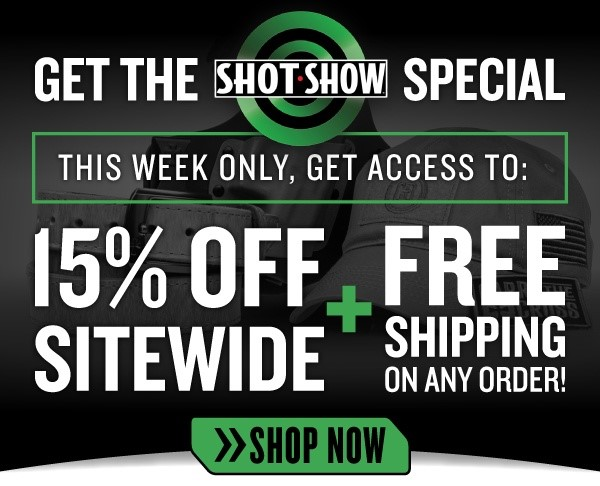 CrossBreed Holsters Celebrates SHOT Show 2018 with 15% Off and Free Shipping