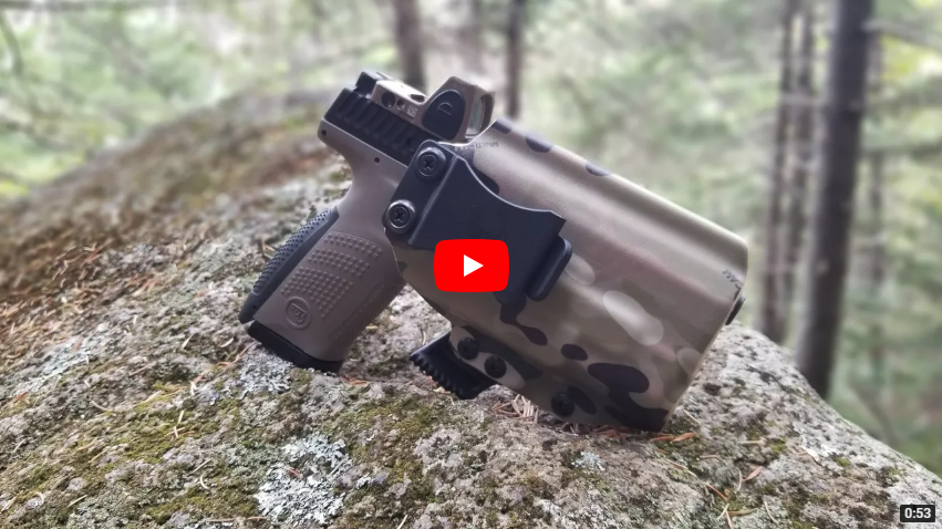 ANR Design Lightbearing AIWB Holster with Claw