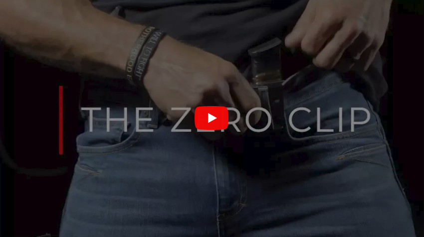 Dynamis Alliance Zero Clip for Gun Holsters and Knife Sheaths