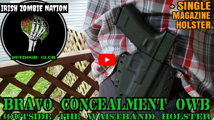 Bravo Concealment OWB Kydex Holster Review