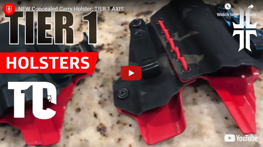 Holster Review - Tier 1 Concealed AGIS and AXIS Holsters