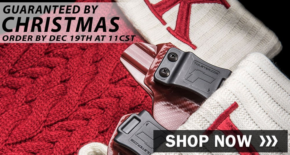 Tulster Holsters Christmas Shipping Deadline and Discount