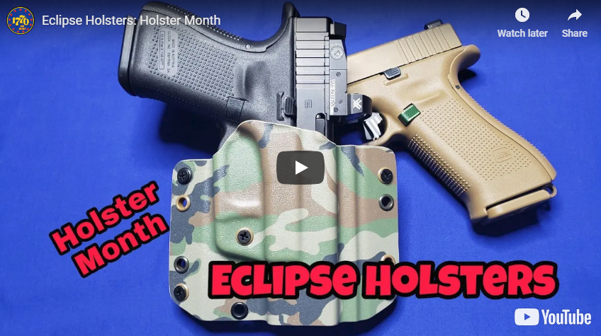Holster Review - Eclipse Holsters OWB Holster