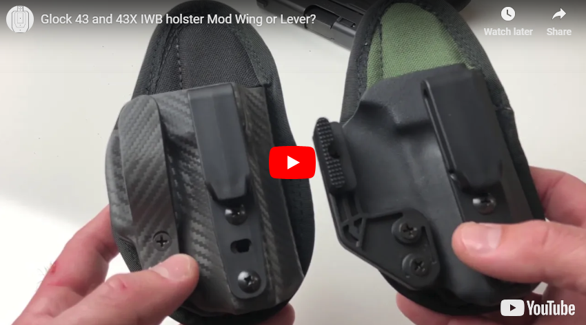TactiPac Max IWB Holster with Lever