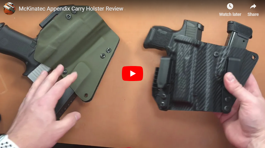 Holster Review - McKinaTec Appendix Rig Holsters