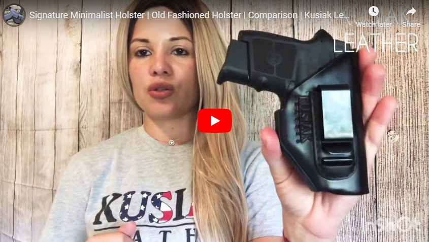 Kusiak Leather Holsters for Bodyguard 380
