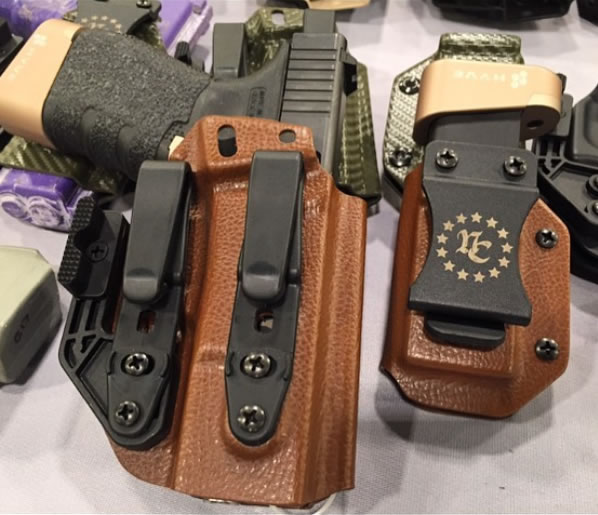 Raptor Brown Inside Waistband Holster for Glock 19