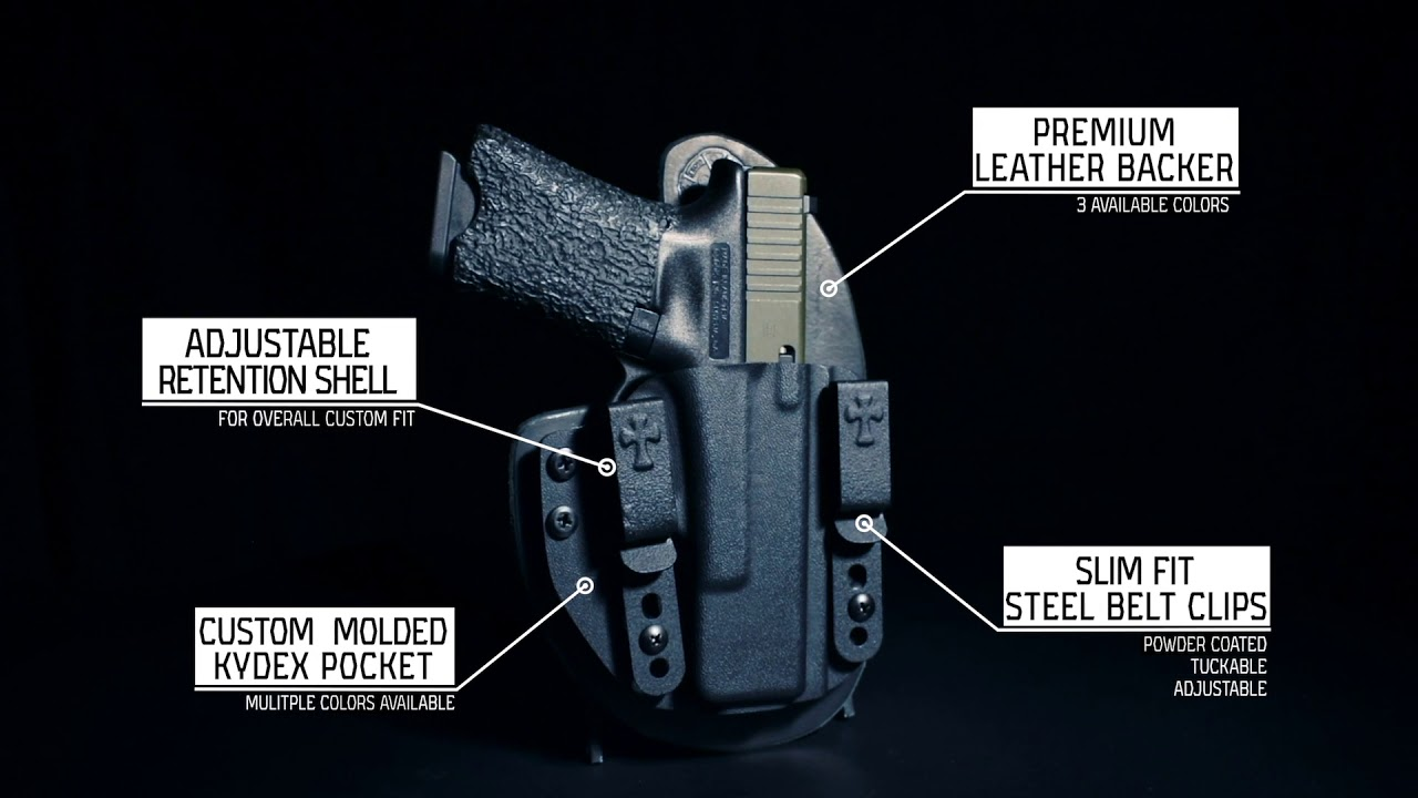 CrossBreed Reckoning Holster for IWB or OWB Carry