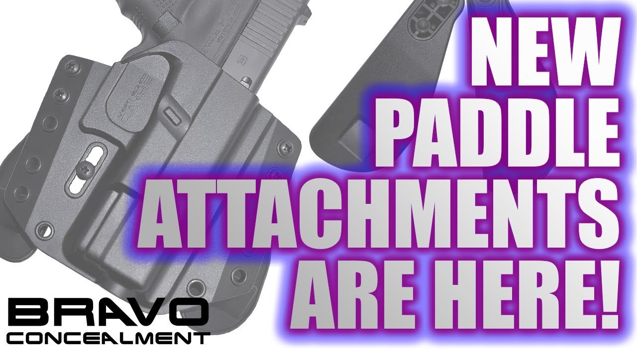 Bravo Concealment Paddle Attachments
