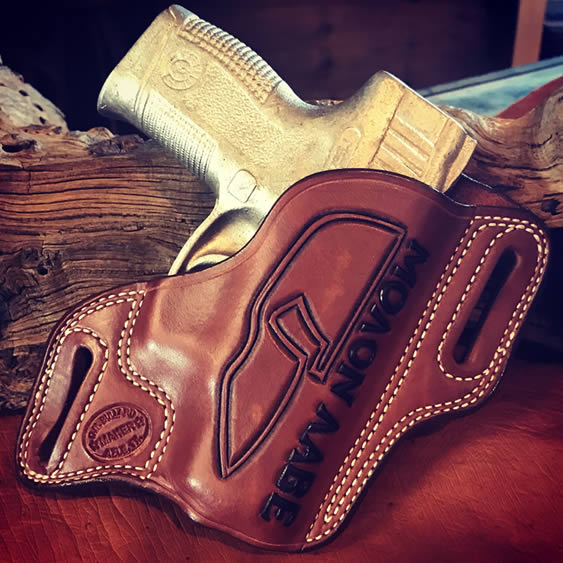 Bullard Leather Holster