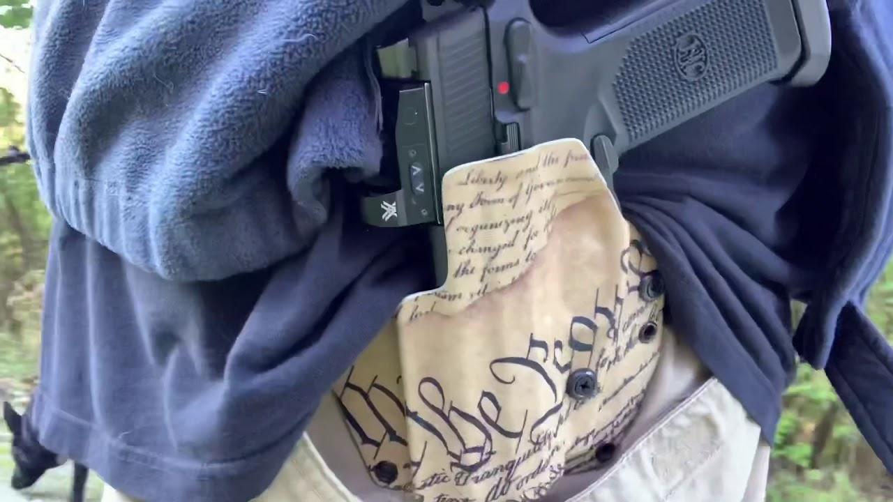 FNX-45 Tactical OWB Holster