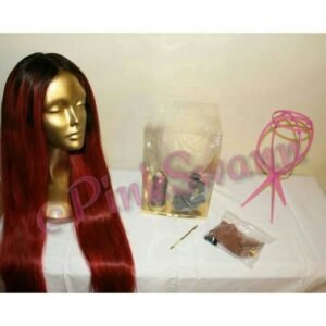 fully loaded canvas head wig making kit