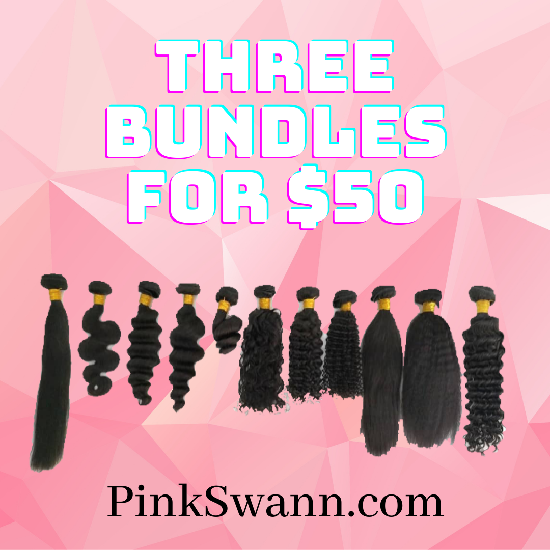 Three bundles for $50