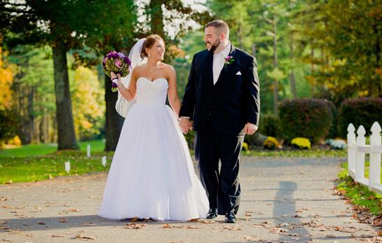 Bride and Groom - High School Sweethearts