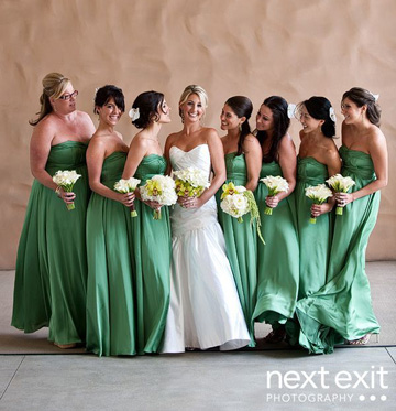 St Patricks Day Bridesmaid dresses