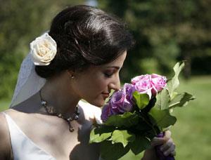 Candid Wedding Portrait