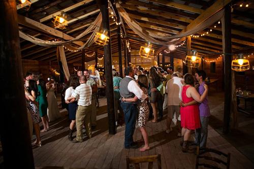 Dance floor at Vinewood Plantation