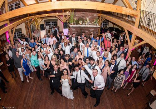 Wedding at Zorvino Vineyards