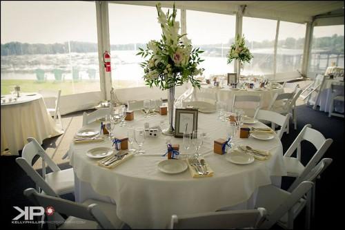 Inside the pavilion Tend Maryland Wedding