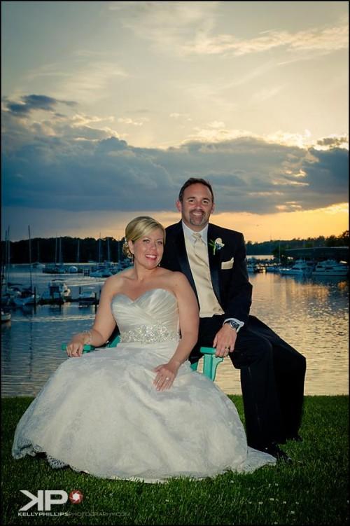 Wedding at Maryland Waterfront Venue