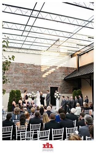 Wedding Ceremony at the Vie in Philadelphia