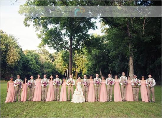 Wedding Party - Outdoor Wedding Reception