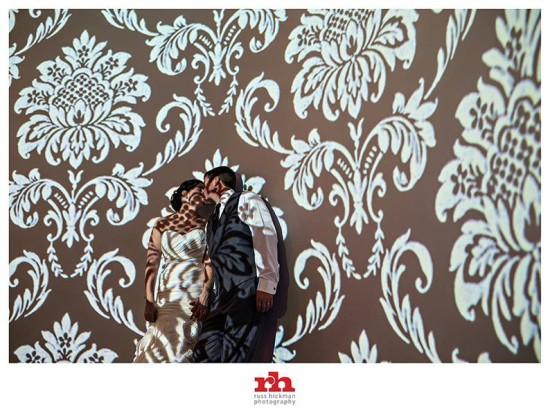 Bride and Groom Kiss at the Vie Philadelphia