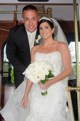 Bride and Groom, Georgetown Wedding